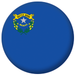 Nevada State Flag 58mm Mirror